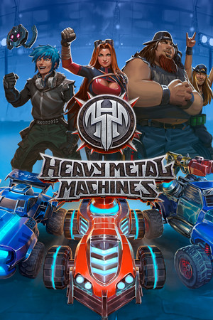 Heavy Metal Machines poster image on Steam Backlog