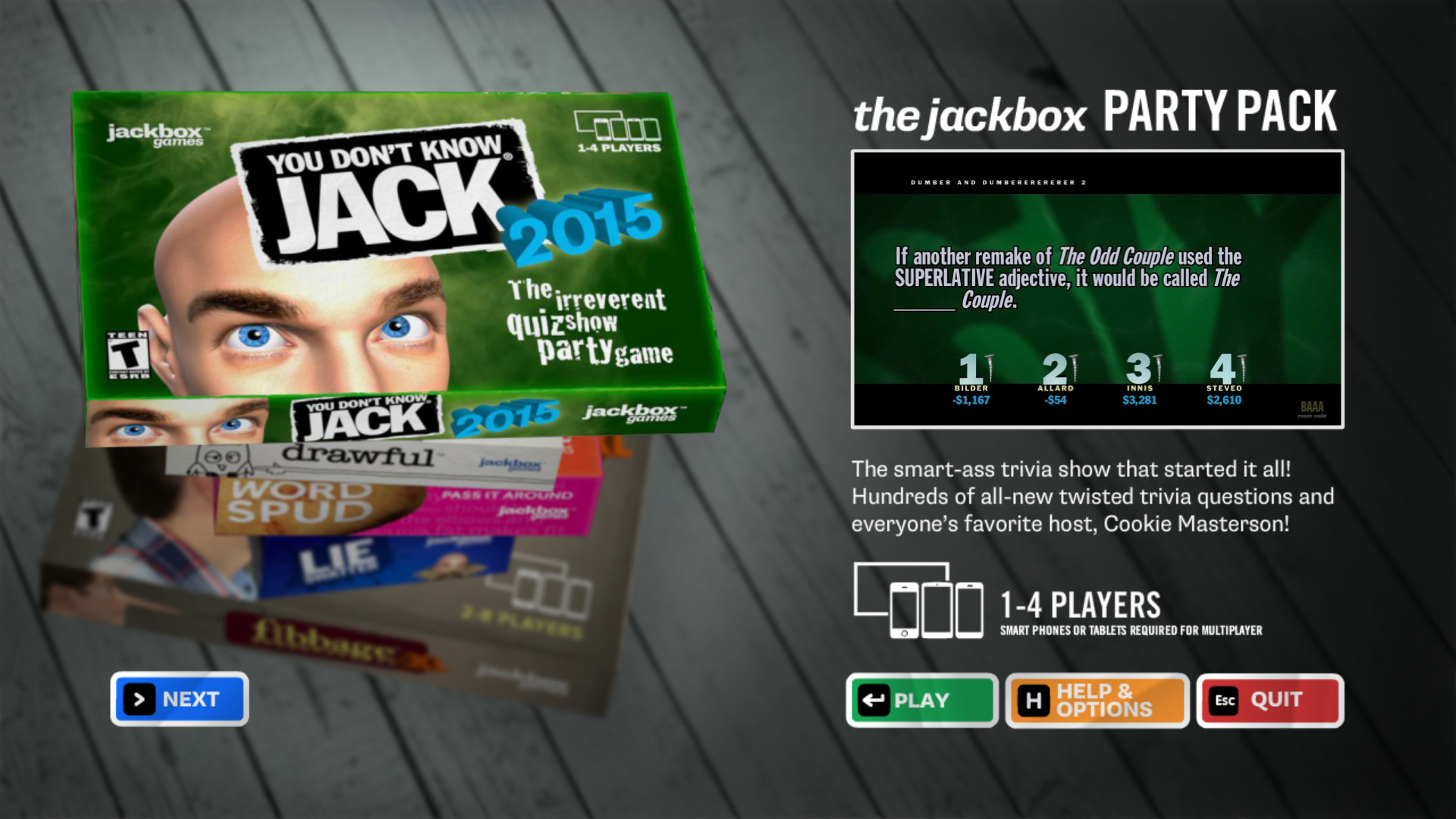 The Jackbox Party Pack On Steam Parallel Port Game Shark Wiring Diagram