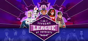 Supreme League of Patriots Issue 1: A Patriot Is Born cover art
