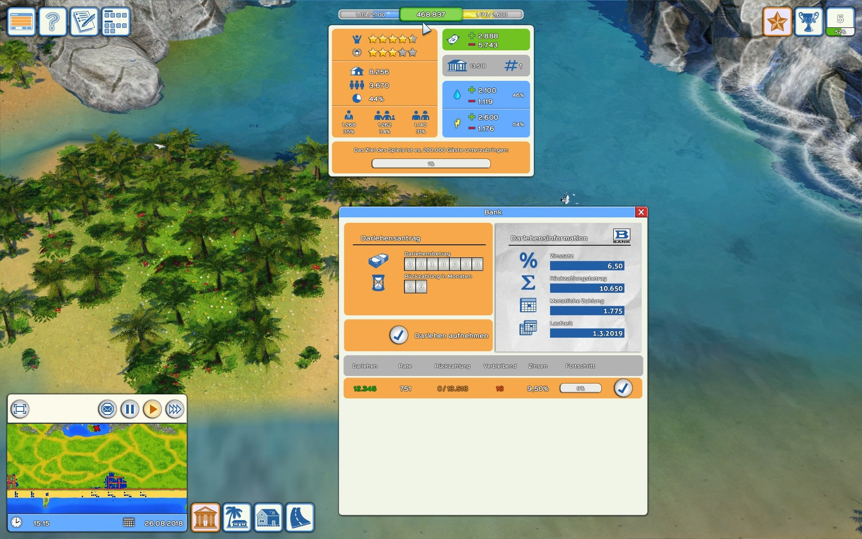 Beach Resort Simulator