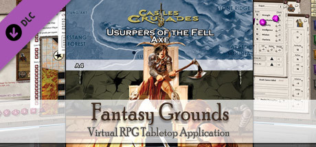 Fantasy Grounds - C&C: A4 Usurpers of the Fell Axe