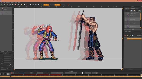 Скриншот из Spriter Pro