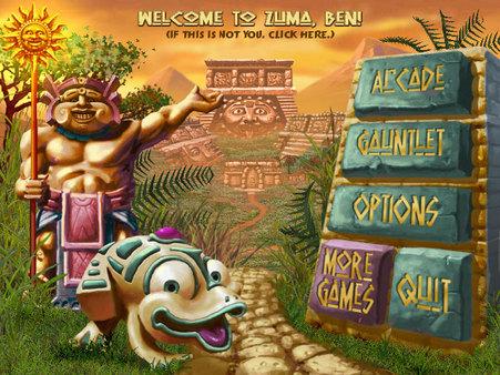 Скриншот из Zuma Deluxe