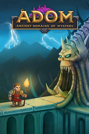 ADOM (Ancient Domains Of Mystery) poster image on Steam Backlog