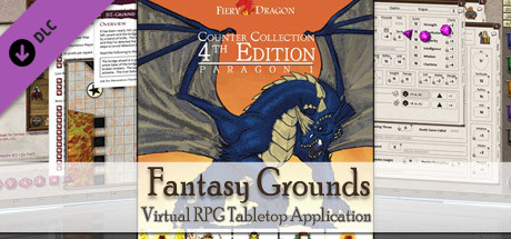 Fantasy Grounds - Counter Collection 4E Paragon 1