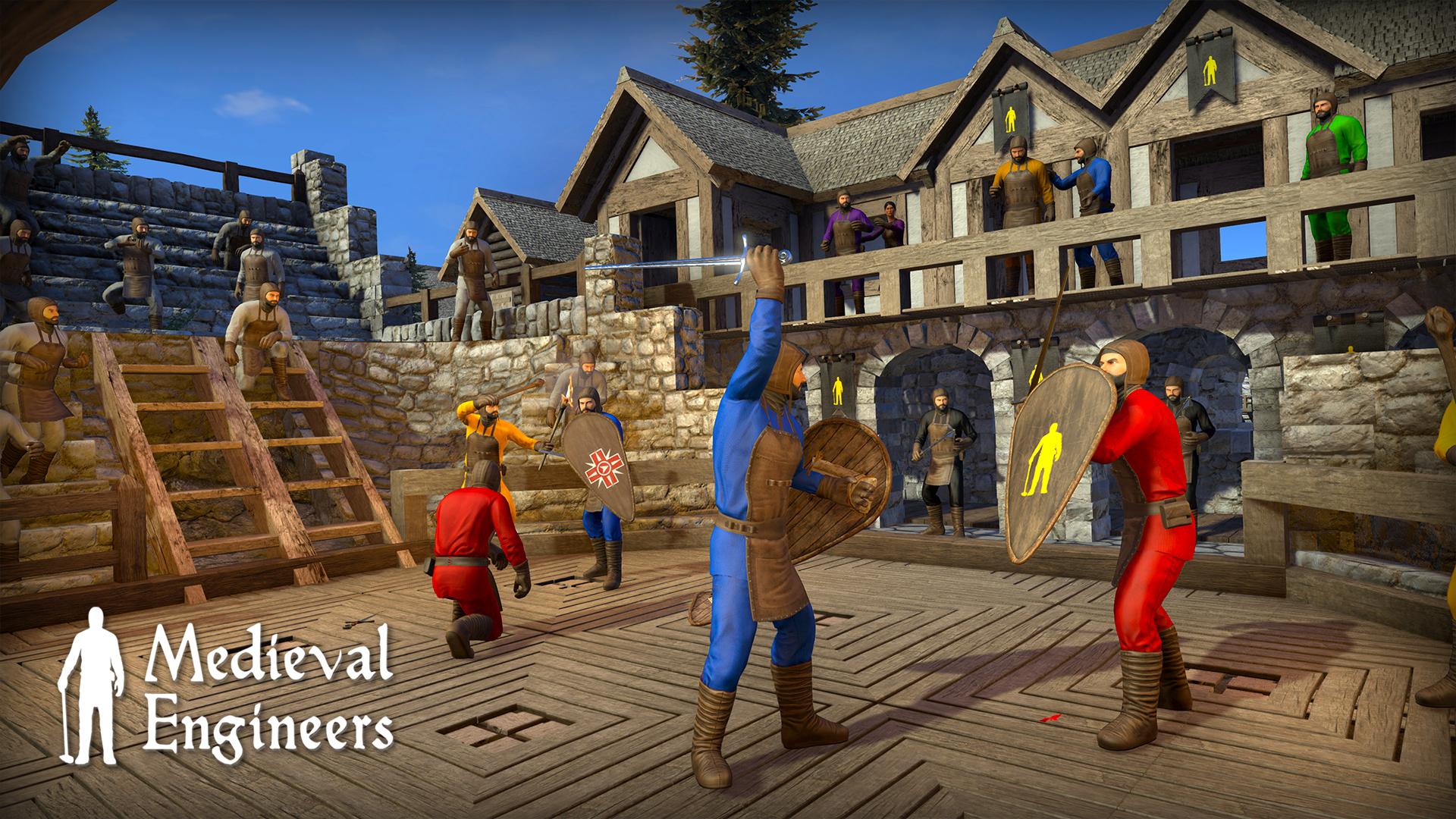 Screenshot of Medieval Engineers server hosting