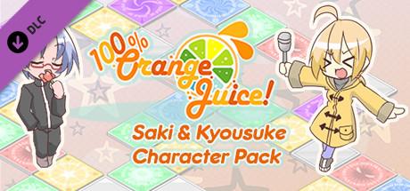 100% Orange Juice - Saki & Kyousuke Character Pack cover art