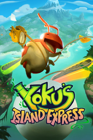 Yoku's Island Express poster image on Steam Backlog