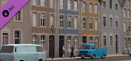 Modellset 1 - Bahnhof, Häuser, Scheunen