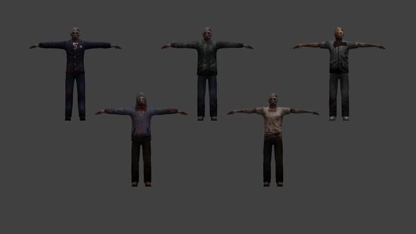 Скриншот из Zombie Action Figures