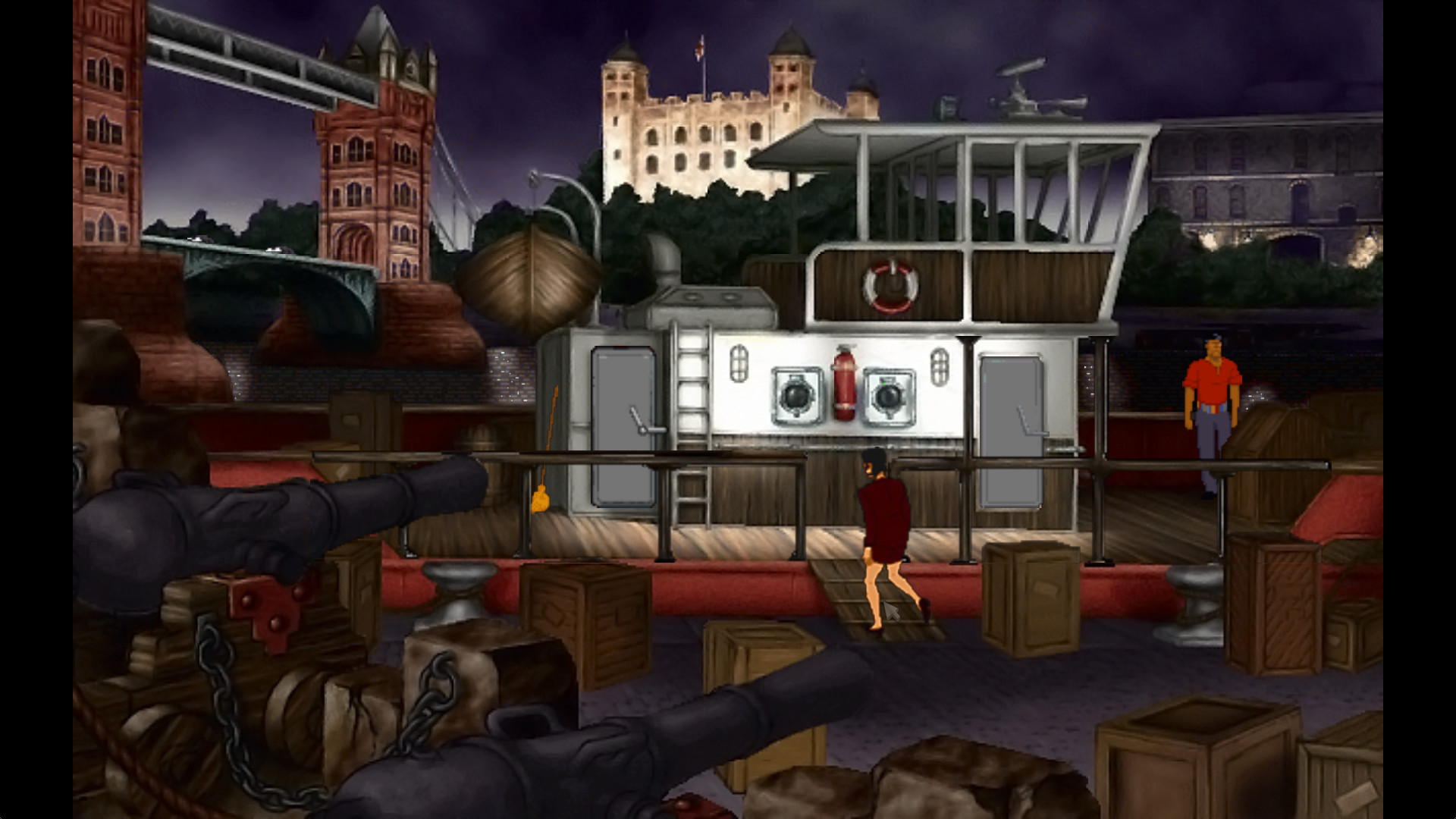 Broken Sword 2: The Smoking Mirror Screenshot 2