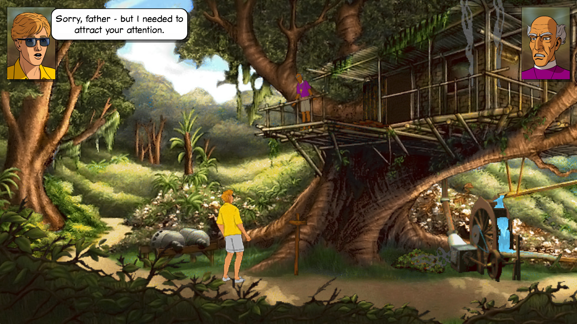 Broken Sword 2: The Smoking Mirror Screenshot 3