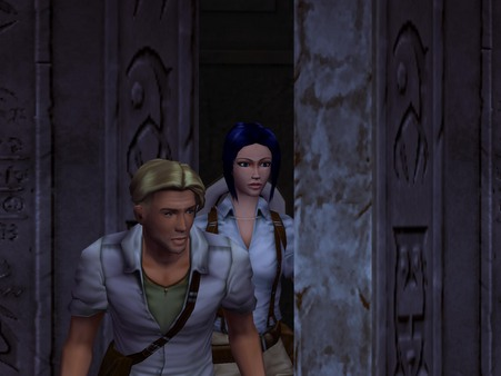 Broken Sword 3: The Sleeping Dragon Screenshot 1