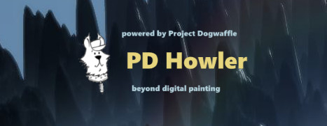 PD Howler 9.6 Digital Painter and Visual FX box