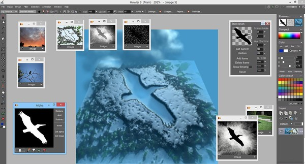Скриншот из PD Howler 9.6