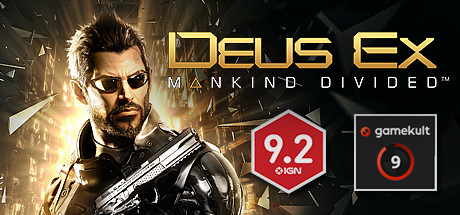 Deus Ex: Mankind Divided™ cover art