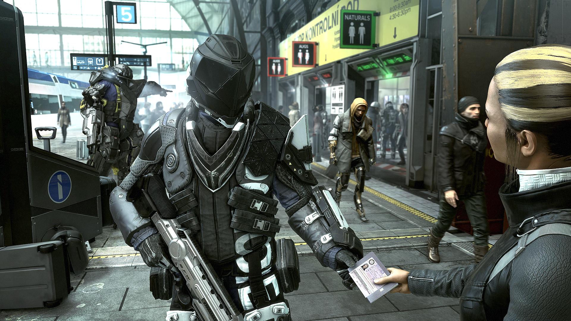 Deus Ex: Mankind Divided Screenshot 1