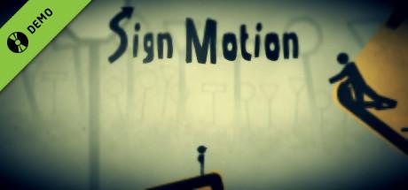 Sign Motion Demo