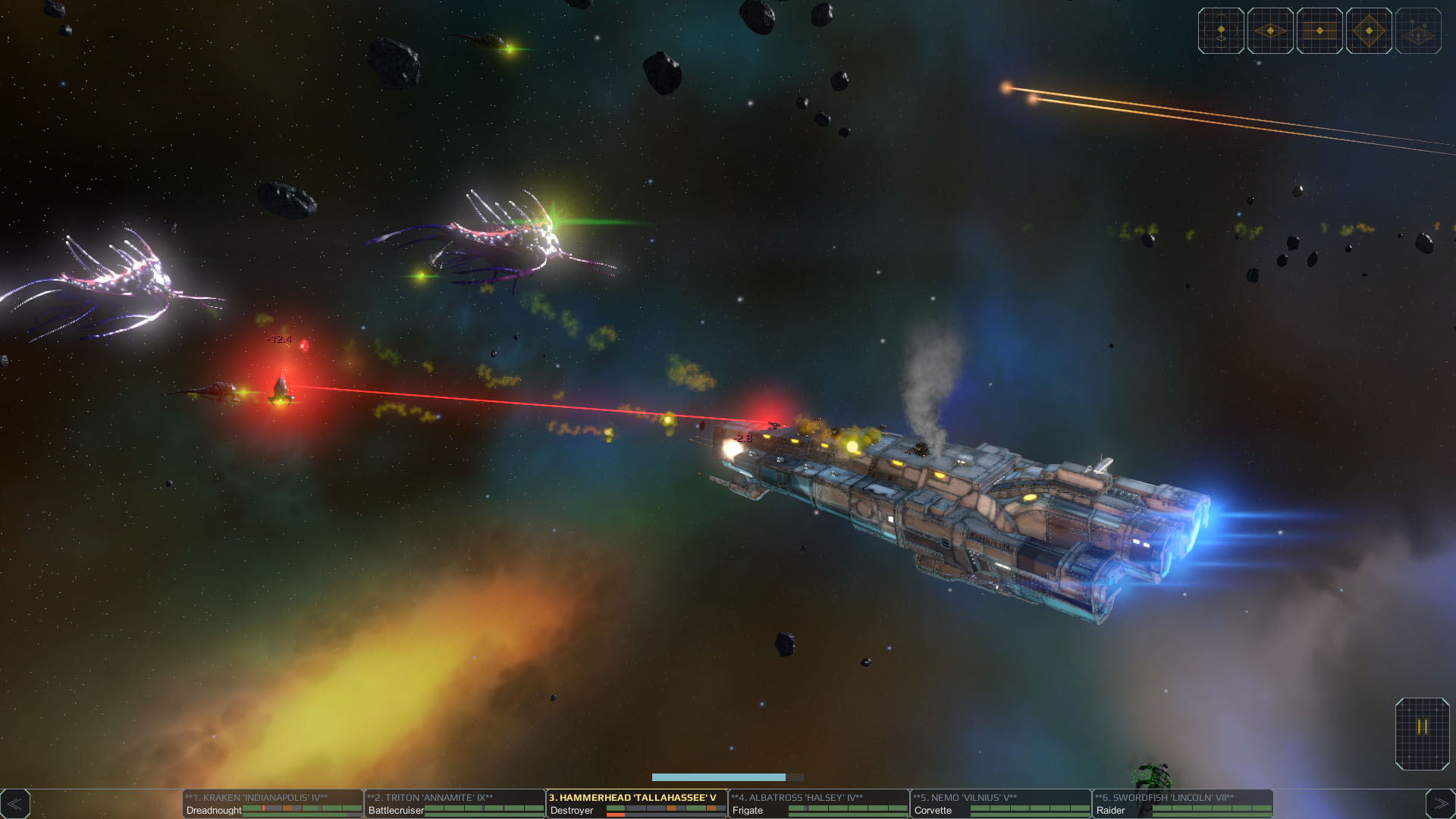 Star Hammer: The Vanguard Prophecy screenshot 3