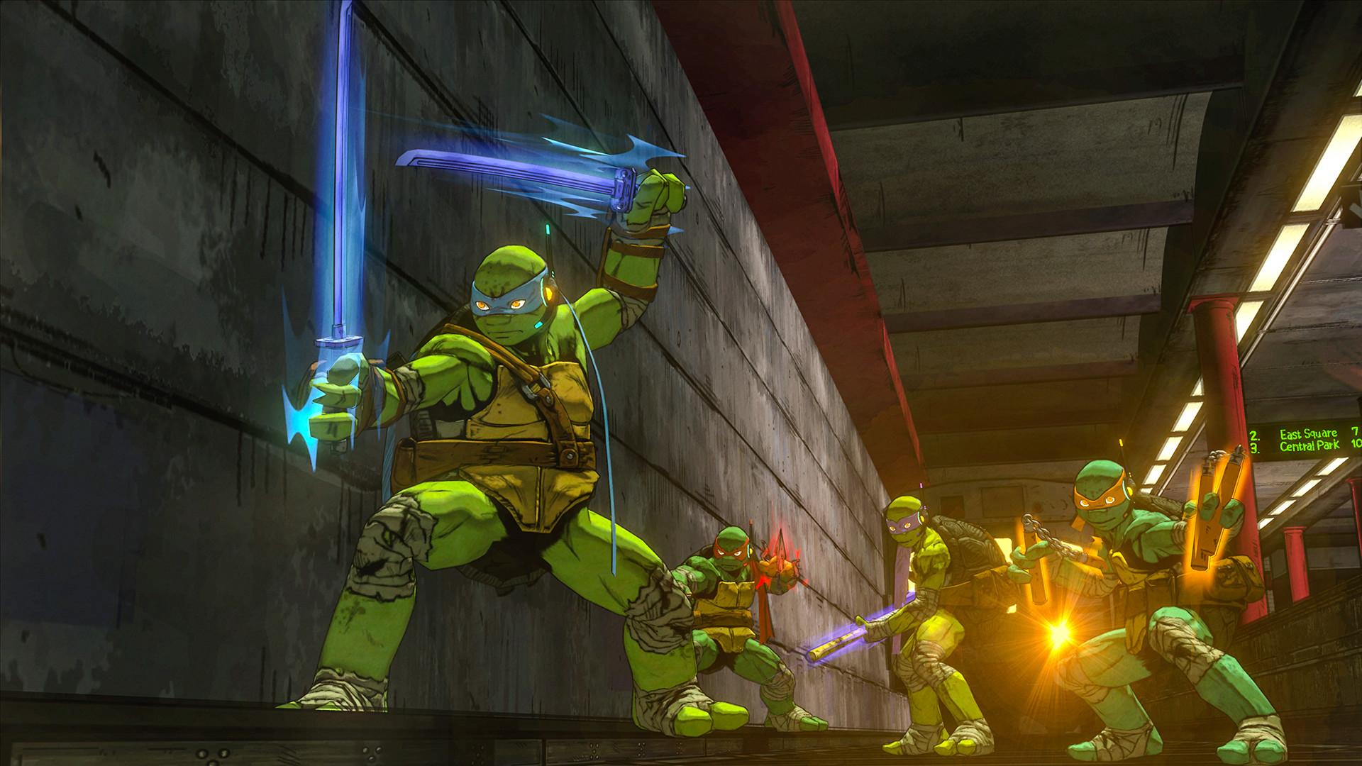 Teenage Mutant Ninja Turtles Mutants In Manhattan XBOX 360 ESPAÑOL (Region FREE) (COMPLEX) 3