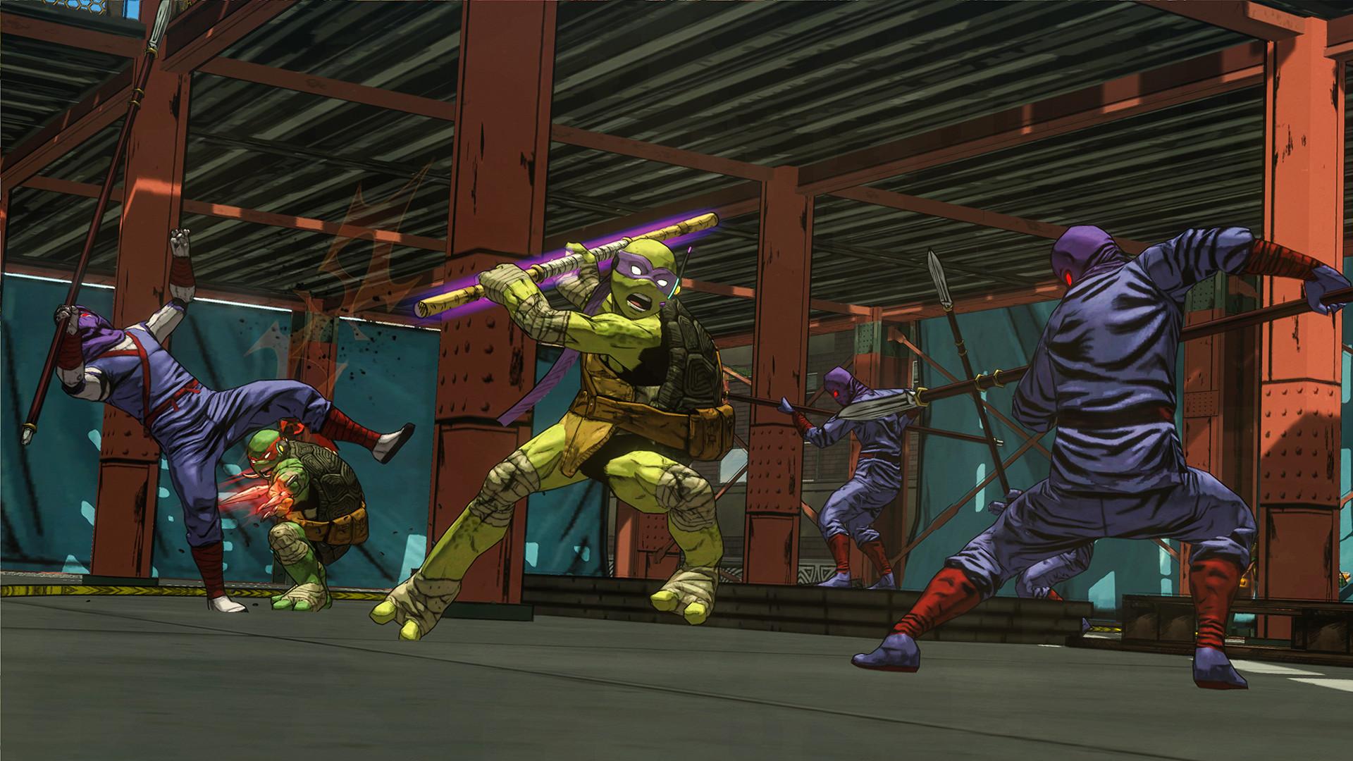 Teenage Mutant Ninja Turtles Mutants In Manhattan XBOX 360 ESPAÑOL (Region FREE) (COMPLEX) 7