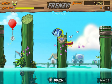 Screenshot of Feeding Frenzy 2: Shipwreck Showdown Deluxe