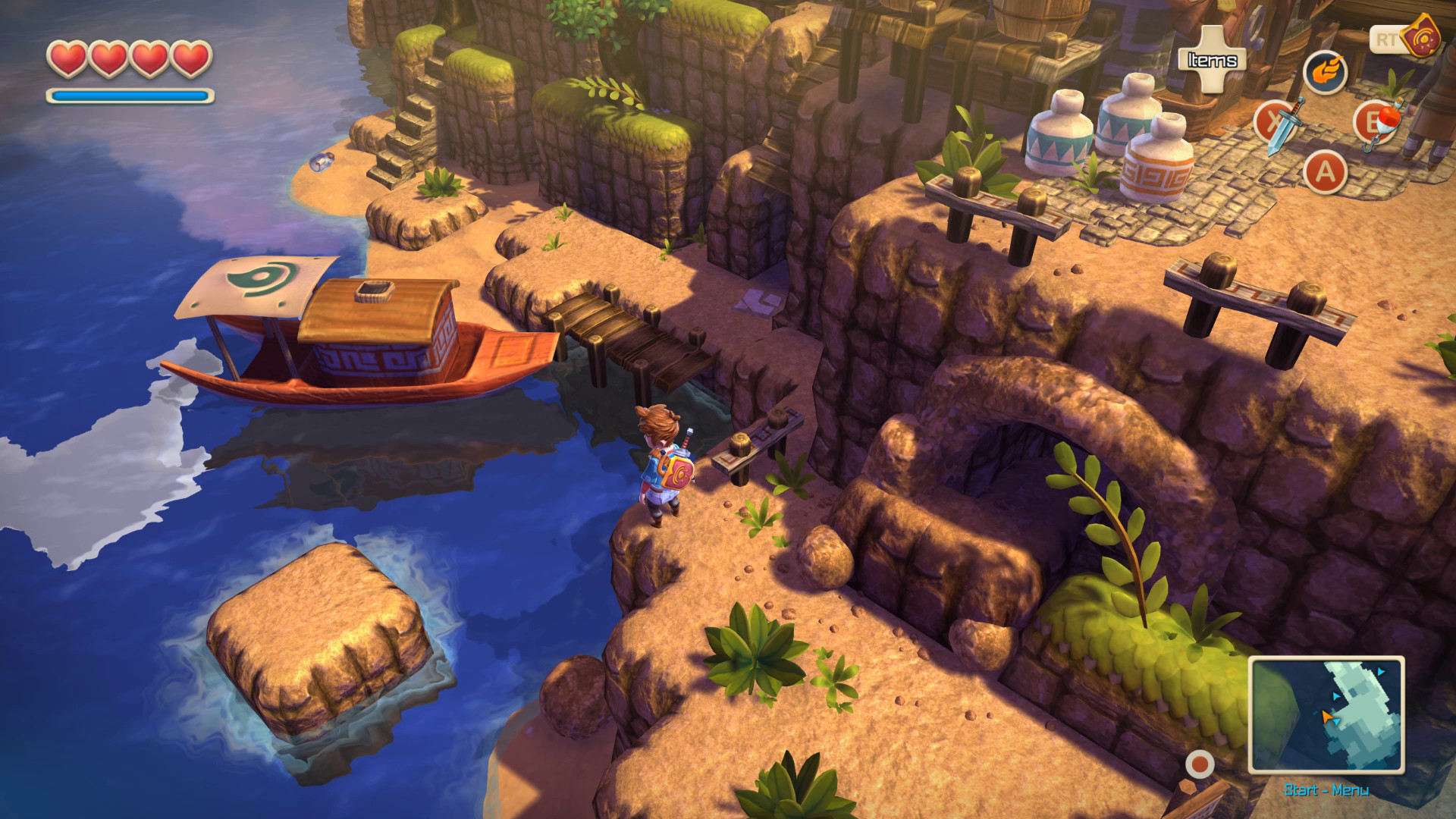 Oceanhorn Monster Of Uncharted Seas On Steam