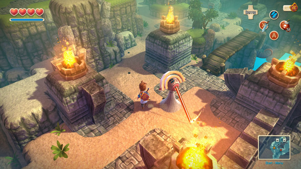 Oceanhorn: Monster of Uncharted Seas Screenshot