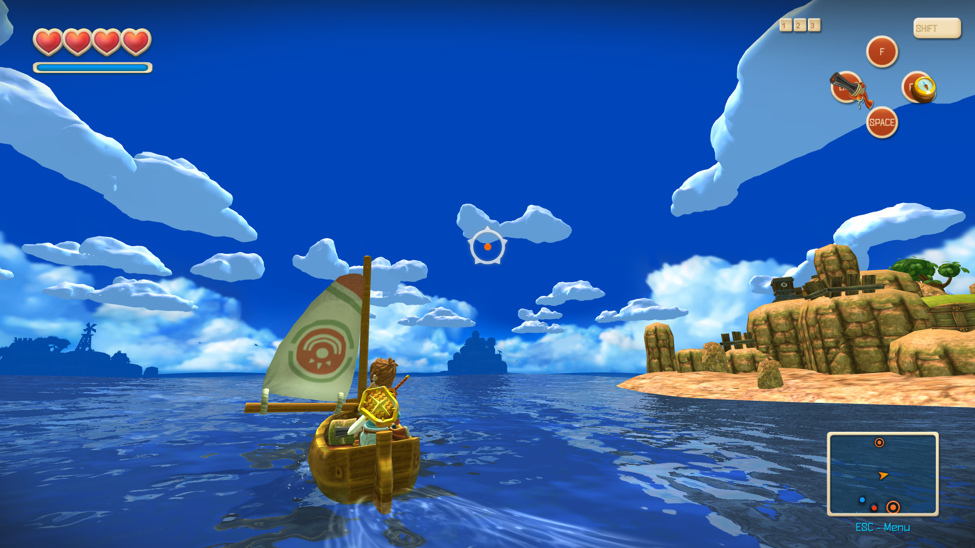 Oceanhorn: Monster of Uncharted Seas screenshot 1