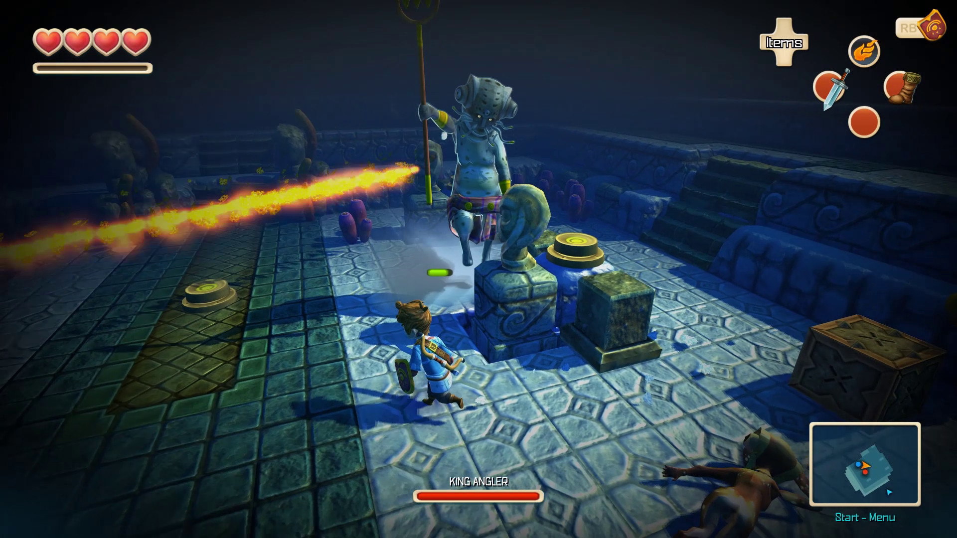 Oceanhorn: Monster of Uncharted Seas screenshot 3