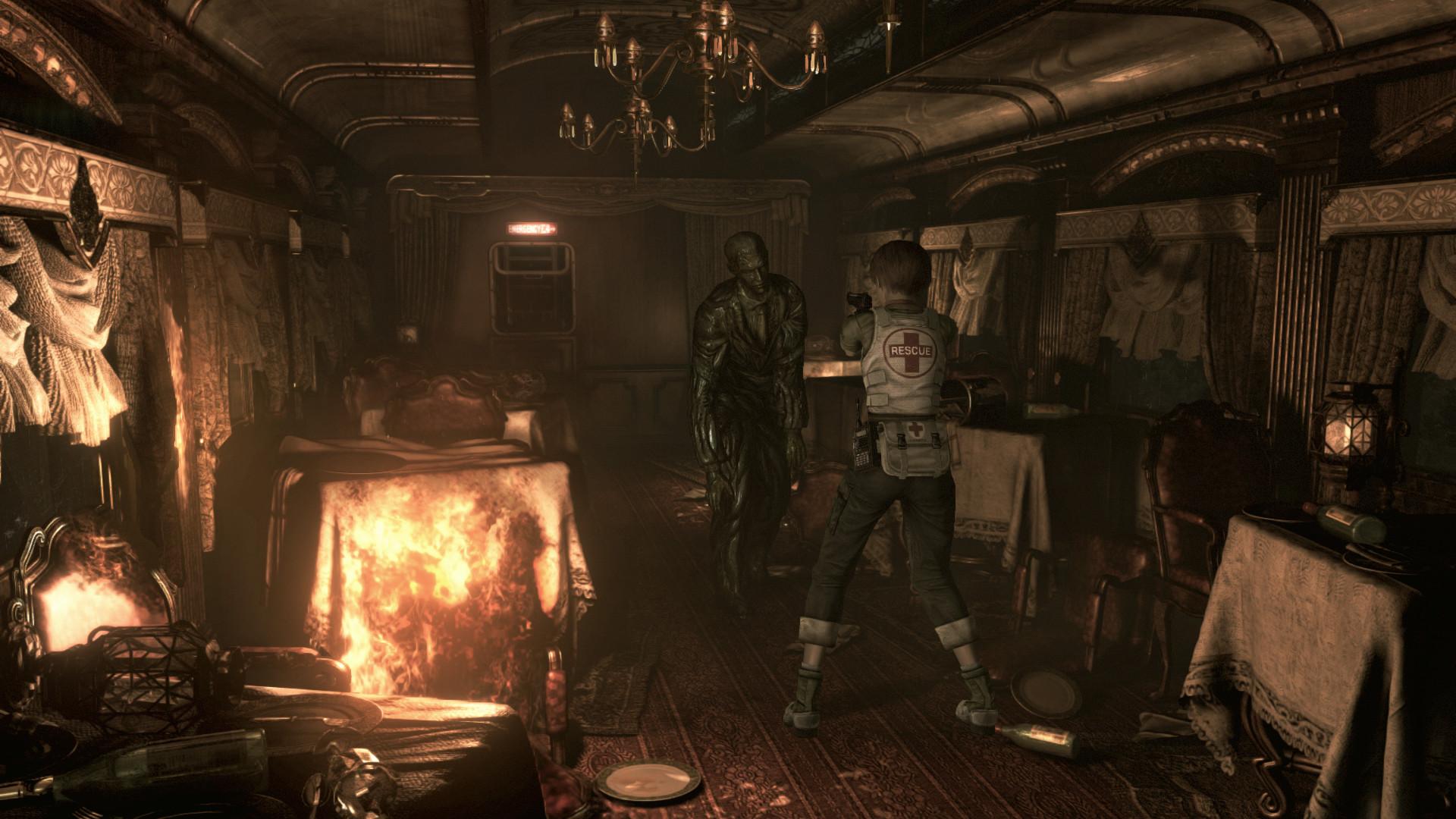 Resident Evil 0 HD REMASTER image 2
