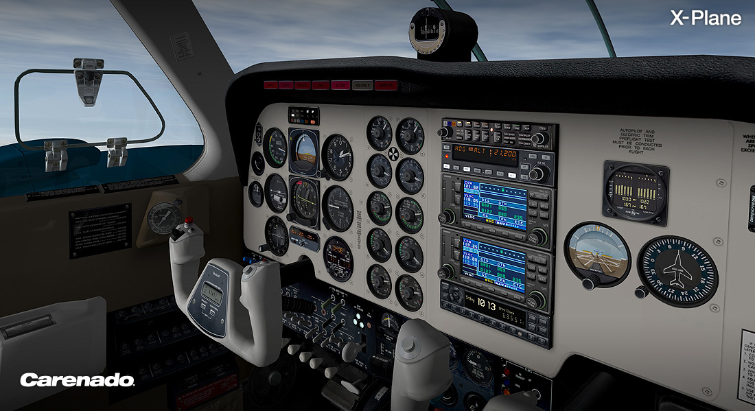 X-Plane 10 AddOn - Carenado - B58 Baron