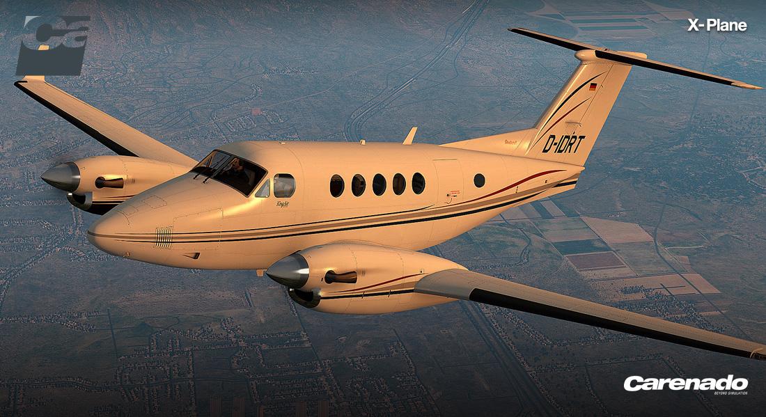 X-Plane 10 AddOn - Carenado - B200 King Air