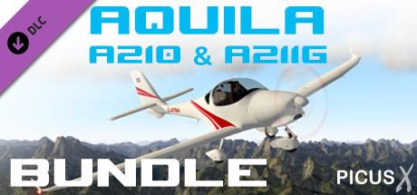 X-Plane 10 AddOn - Aerosoft - Aquila A210 & A211G Bundle