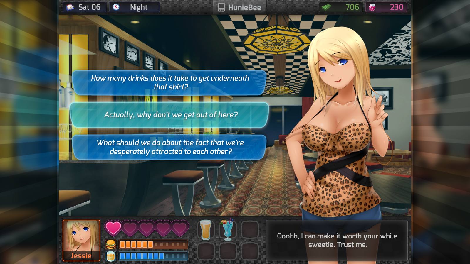 dating game simulator for girls free play game
