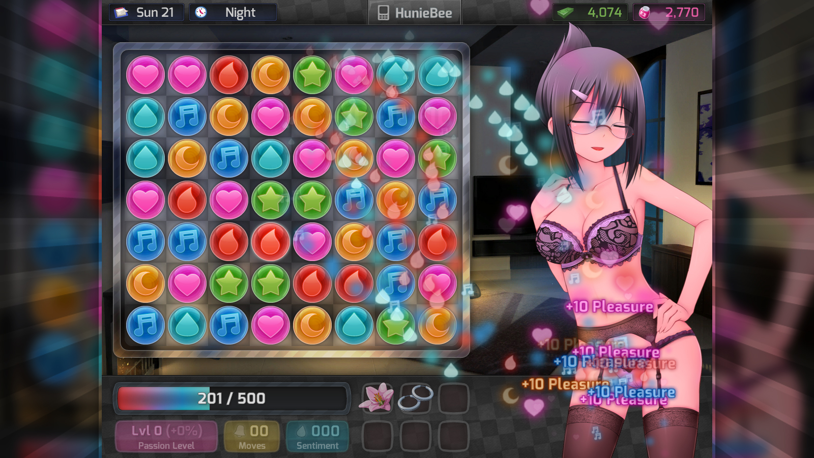 HuniePop screenshot 2