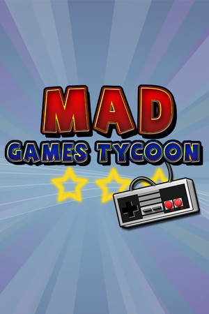 Mad Games Tycoon poster image on Steam Backlog