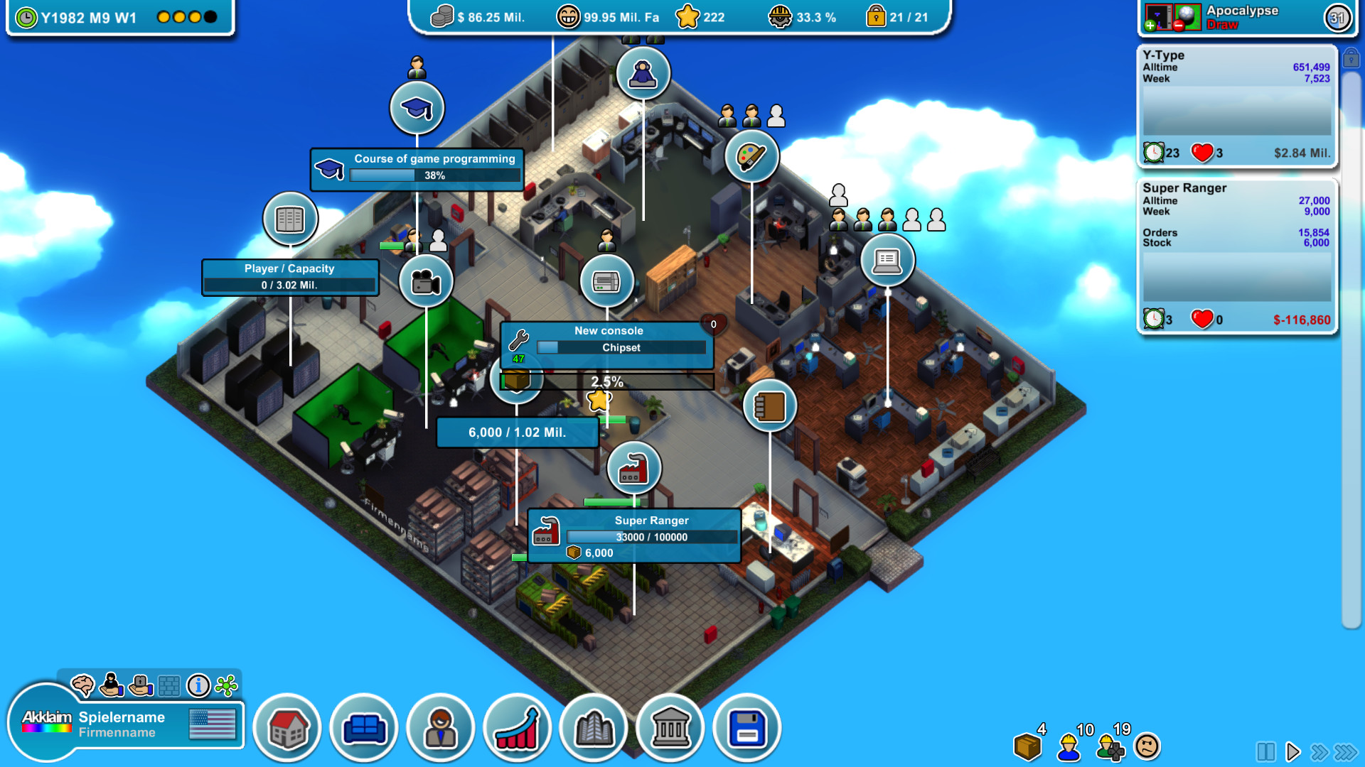 tycoon games for mac os x