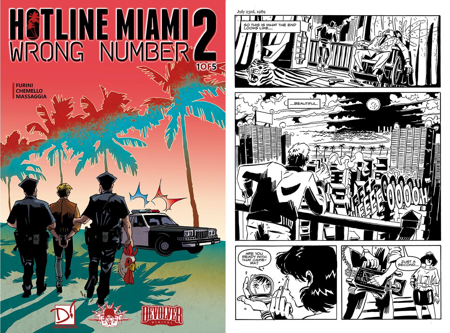 steam hotline miami 2 wrong number digital comic
