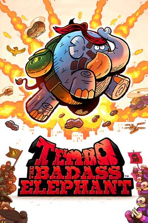 TEMBO THE BADASS ELEPHANT poster image on Steam Backlog
