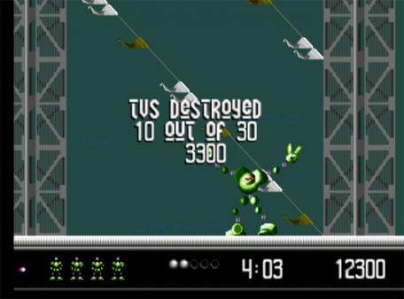 скриншот Vectorman 1
