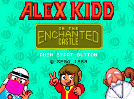 Alex Kidd™ in the Enchanted Castle
