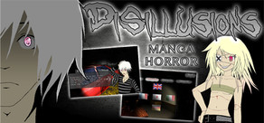 Disillusions Manga Horror cover art