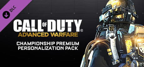 Call of Duty®: Advanced Warfare - Championship Premium Personalization Pack