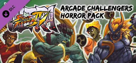 USFIV: Arcade Challengers Horror Pack