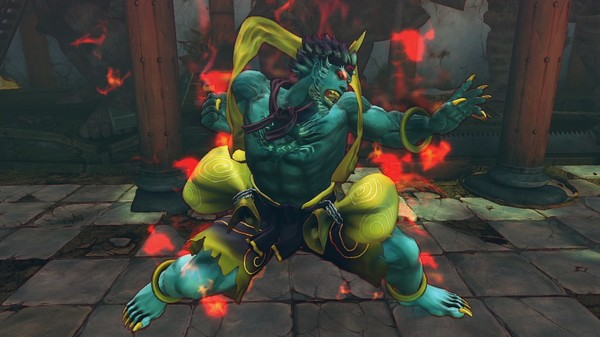 скриншот USFIV: Arcade Challengers Horror Pack 1