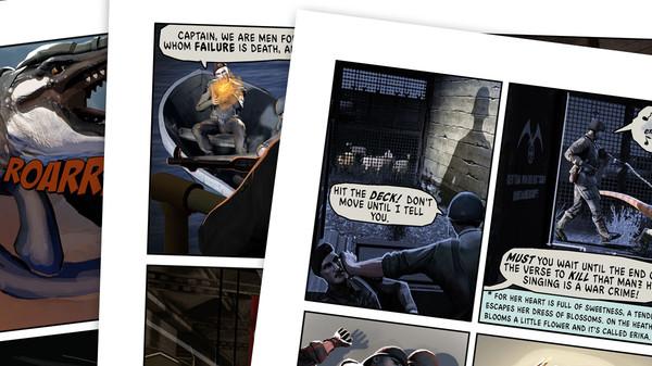 скриншот Dino D-Day Comic - Issue #1 1