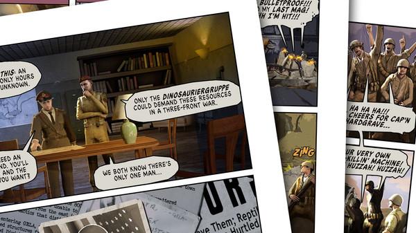 скриншот Dino D-Day Comic - Issue #1 0