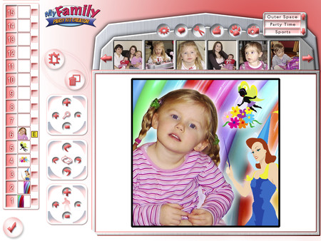Скриншот из My Family Creative Studio