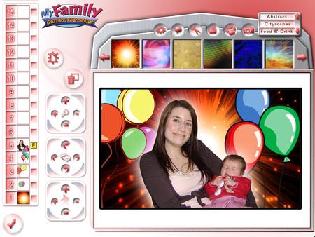 Скриншот из My Family Creative Studio